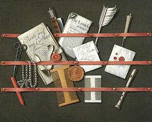 Still Life: A Letter Rack