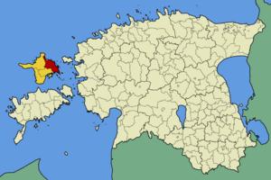 Pühalepa Parish - Image: Eesti pyhalepa vald