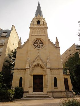 Image illustrative de l'article Église protestante Saint-Jean (Paris)