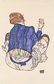 Egon Schiele - Rückenansicht einer sitzenden Frau - 1917.jpeg