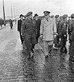 Eisenhower arriveert te Rotterdam om het commando over Canadese troepen die met , Bestanddeelnr 904-8593.jpg