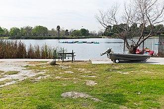 El Dorado Park, Long Beach, California - Boat rentals in El Dorado Regional Park