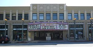 NoHo Arts District, Los Angeles - El Portal Theatre on Lankershim Blvd.