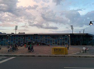 Elbasan Arena - Image: Elbasan Arena stadium in Elbasan, Albania 2