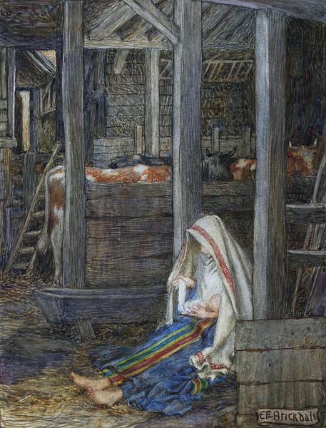 File:Eleanor Fortescue-Brickdale - The Nativity.jpg