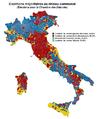 Elections Italie 2013 - Coalitions majoritaires au niveau communal (Députés).png
