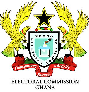 Electoral Commission of Ghana - Electoral Commission of Ghana old logo
