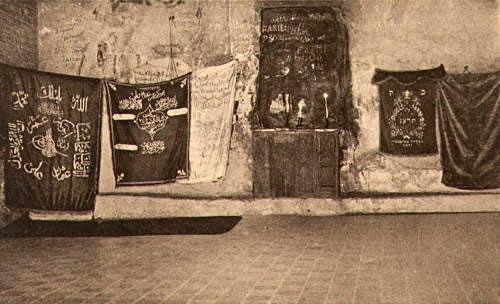 Elias' Cave at Haifa, 1910 (1604)