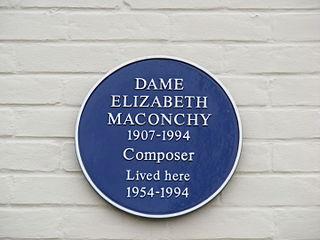 Elizabeth Maconchy English composer