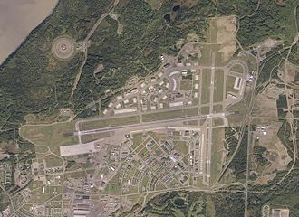 Elmendorf Air Force Base - Elmendorf AFB aerial view