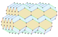 Elongated rhombic dodecahedron honeycomb.png