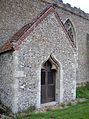 Elsing Church south porch.JPG