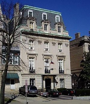 Haitian Ambassador to the United States - Image: Embassy of Haiti, Washington, D.C
