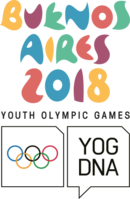 Emblema Buenos Aires 2018 youth olympic games.png