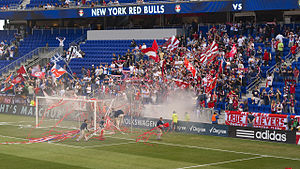 Hudson River Derby - The Empire Supporters Club at Red Bull Arena in 2010