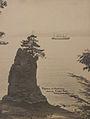 Empress of Australia passing Siwash Rock, Vancouver, British Columbia (HS85-10-41623).jpg