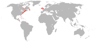 English overseas possessions Overseas territories that were colonised, conquered, or otherwise acquired by the former Kingdom of England