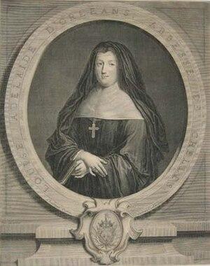 Louise Adélaïde d'Orléans - Louise Adélaïde in 1720 by Pierre Drevet.
