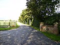 Entrance driveway to Leconfield Grange - geograph.org.uk - 252494.jpg