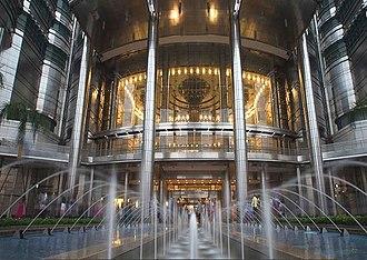 Petronas Philharmonic Hall - Main entrance to Petronas Philharmonic Hall