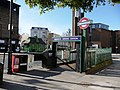 Entrance to tube station, Warwick Avenue - geograph.org.uk - 1736771.jpg
