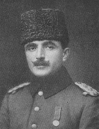 Ottoman entry into World War I - Enver Bey, later Enver Pasha, Ottoman Minister of War