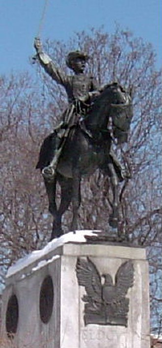 Henry Warner Slocum - Equestrian statue of Slocum by Frederick William MacMonnies in Brooklyn's Prospect Park.