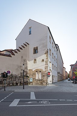 Erhardigasse in Regensburg