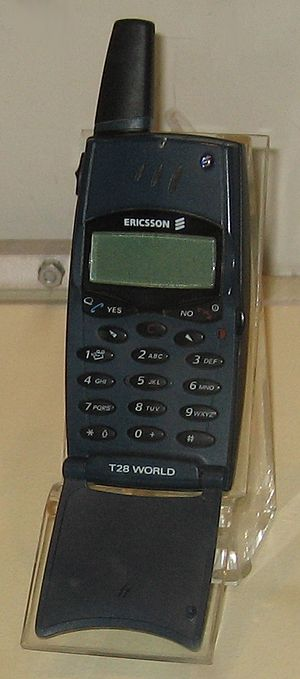 Ericsson Mobile Communications - Ericsson T28 World