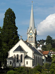 Erlenbach - Kirche - ZSG Wädenswil 2012-08-12 17-01-10 (WB850F).JPG