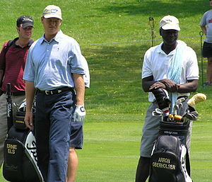 Westchester Country Club - Image: Ernie during 2006 Buick Classic at Westchester CC