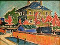 Ernst Ludwig Kirchner - Villa in Dresden.JPG