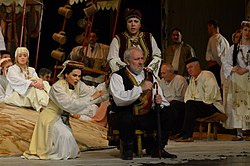 Performance by the Serbian National Theater in Novi Sad, 2013/2014 season