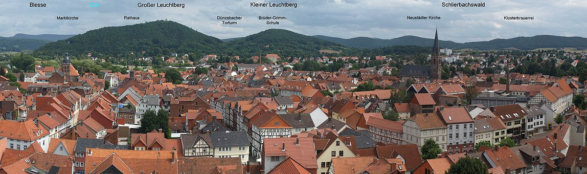 Panorama of Eschwege's Old Town – Ешвеге на Вера