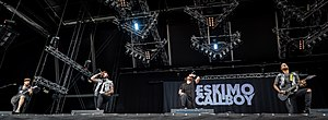 Eskimo Callboy - Eskimo Callboy live at Wacken Open Air 2016