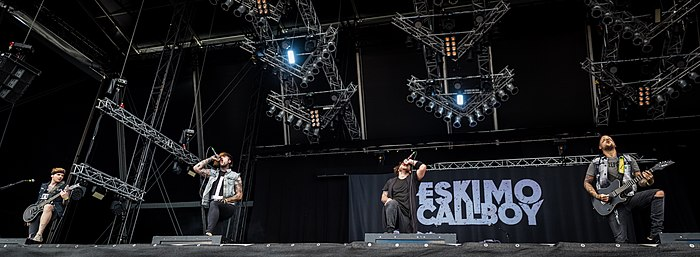 Eskimo Callboy live at Wacken Open Air 2016 Eskimo Callboy - Wacken Open Air 2016-AL3227.jpg