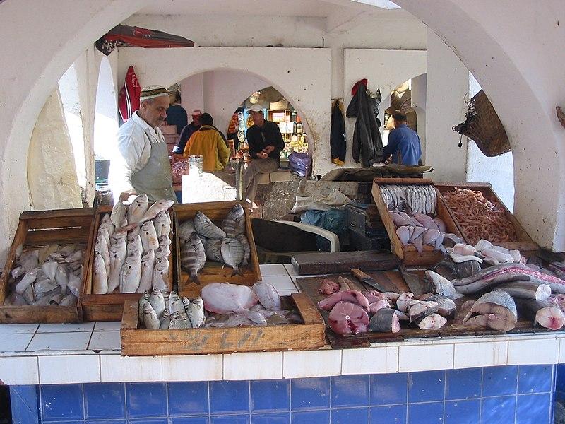 File:Essaouira, Fish Market.JPG