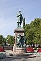 Estatua de Johan Ludvig Runeberg, Esplanadi, Helsinki, Finlandia, 2012-08-14, DD 02.JPG