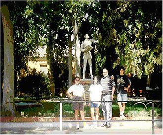 Argamasilla de Alba - Monument to Don Quijote