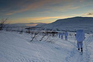 Long-range reconnaissance patrol - Etterretningsbataljonen ski patrol