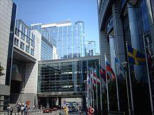 Το κτίριο του Ευρωπαϊκού Κοινοβουλίου στις Βρυξέλλες