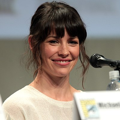 Picture of an author: Evangeline Lilly