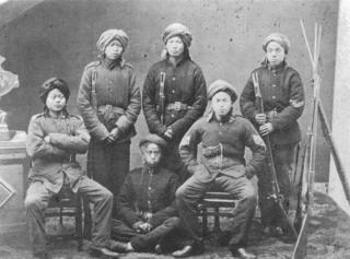 Qing dynasty Westernized army