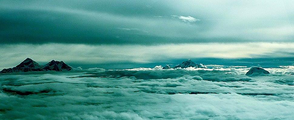 Everest Lhotse Makalung Chamlang