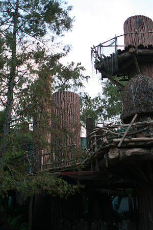 Ewok - Ewok Village, Star Tours: The Adventures Continue at Walt Disney World in Florida