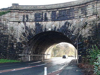 Ewood Aqueduct grade II listed canal in the United kingdom