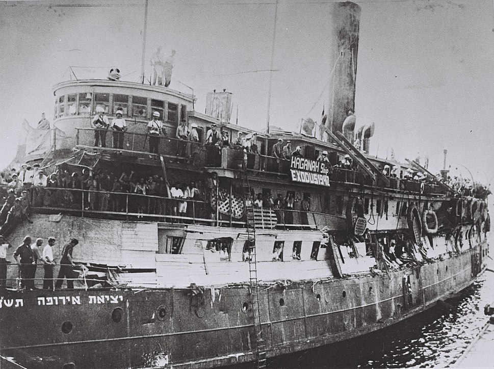 Exodus 1947 after British takeover
