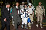 Expedition 48 Arrival at Launch Pad (NHQ201607070038).jpg