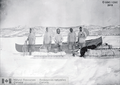 Explorers under Alfred Peter Low moving supplies to Lake Winokaupow, in Labrador, in 1894 -b (cropped).png