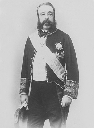 José Osorio, 9th Duke of Sesto - The Duke of Sesto in diplomatic uniform at the Exposition Universelle, 1900